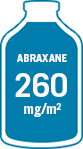ABRAXANE® (paclitaxel protein-bound particles for injectable suspension) (albumin-bound) for metastatic breast cancer (MBC) 260 mg/m2 bottle - icon