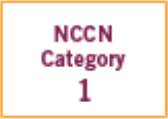 NCCN Category 1 - icon